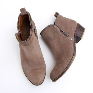 Lucky Brand Shoes - Lucky Brand Suede Ankle Booties